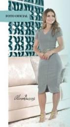 Vestido moda evangélica novo