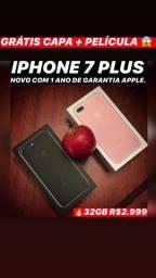 IPhone 7 Plus 32gb seminovo, aceitamos seu iPhone usado como parte do pagamento