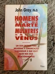 Livro Homens São De Marte Mulheres São De Vênus -john Gray