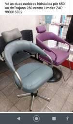 Cadeira hidráulica de cabeleireiro