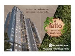 Fatto 2 e 3 dorm/suite , 57 a 72m² á partir de R$ 262.000 , entrada parcelada em Jundiai