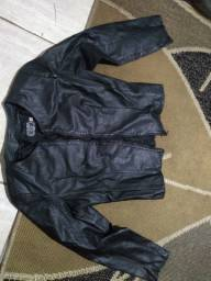 Jaqueta em couro legítimo Mercatto