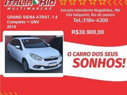 Título do anúncio: Fiat Grand siena 1.4 mpi attractive 8v flex 4p manual