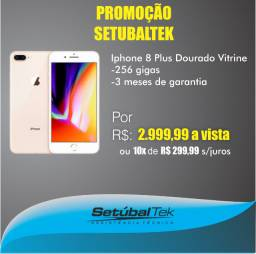 Promoção Iphone 8 plus - 256 gigas - Vitrine - Setubaltek