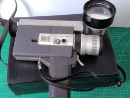 Filmadora vintage Canon Japão Super 8 modelo 518-2