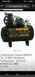 Compressor 10 pés 100 litros