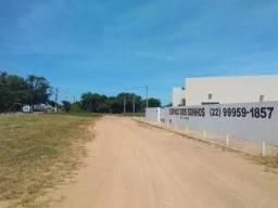 Terreno entre São João da Barra e Atafona,Rj. Entrada R$10.000,00+ Parcelas de R$600,00