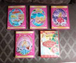 DVDs da Barbie