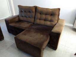 Sofá reclinável / retrátil