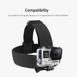 Suporte De Elástico Com Regulagem Para Câmeras Sport GoPro
