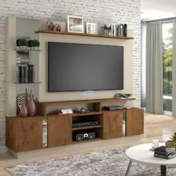 Título do anúncio: Só HOJE! Estante Home para TV Munique (Rack com Painel) - Só R$899,00