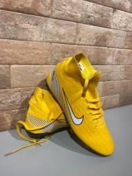 Chuteira Nike Zerada Nunca Usada Cano Alto