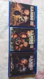DVD Blue ray rambo