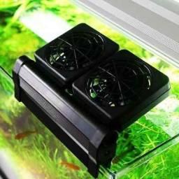 Cooler Resfriador Para Aquários - 2 Ventoinhas
