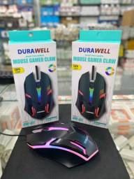 Mouse Gamer Usb Óptico Sensor de Laser LED DURAWELL - DW-02