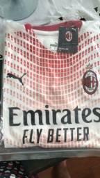 Camisa Milan 2021 branca