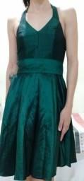 Título do anúncio: Vestido de festa verde