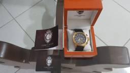 Relógio Suíço Constantim Original Luxo Novo