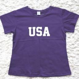 Título do anúncio: T-shirts Femininas - [Tamanhos P e M]