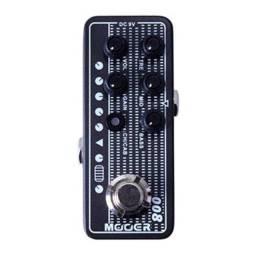 Pedal Mooer 008 Pré-amplificador Cali Mk3 C/ Nfe