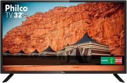 """TV 32"""" HD Backlight D-LED Philco PTV32F10D, Receptor Digital Integrado - Trinta Bivolt"""