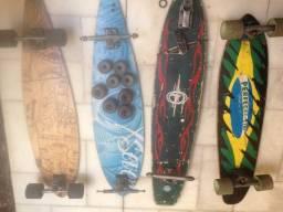 Skates long variado, monte o seu