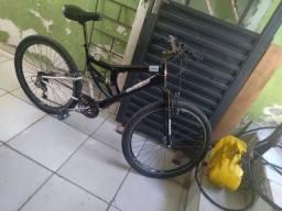 Bicicleta 18 marchas preta