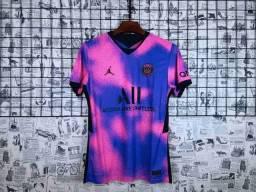 Camisa Nike PSG IV 2020/21 Torcedor Pro Masculina<br><br>