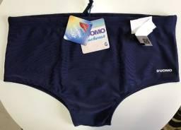 Título do anúncio: Sunga De Banho Cavada Proteção Uv50+ Azul Marinho D'uomo G