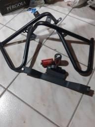 Protetor de carenagem 125, 150 e 160 + pedaleira