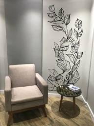 Desenho e pintura em parede
