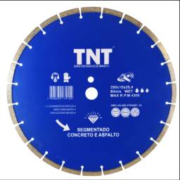 Disco diamantado 350 mm TNT blue asfalto/concreto