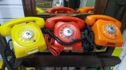 Telefone disco antigo