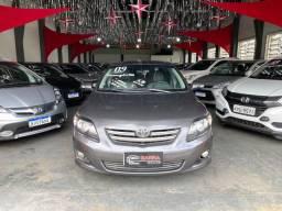 Corolla XEI 2009 1.8 câmbio manual com bancos de couro