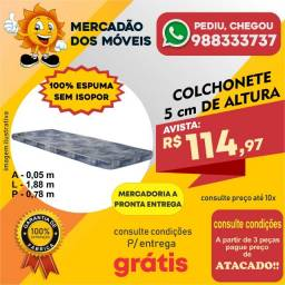 Colchonete 100% Espuma 5cm De Altura - Entrega Grátis