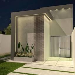 Casa com Pé direito alto, Boa Localização, Suite, Porcelanato , lage
