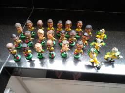 Miniaturas seleção brasileira