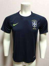 6a00727cec Camisa Nike Treino Seleção Brasileira Azul G