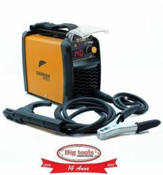 Inversora MMA 140A Turbo 220V Monofásica com Display Digital - German Tools