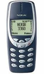 Celular Nokia 3320 Tdma Sem Chip + Carregador Original P/ Coleção Ou Peças - Não Funciona!