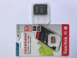 Cartão de memória 64gb sandisk ultra
