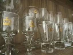 Coleção de taças e copos imperial