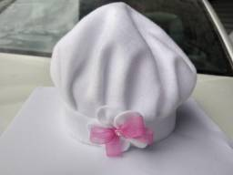 Boinas de inverno infantil em tecido soft