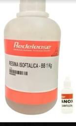 Resina isoftálica poliéster com catalisador para fibras 1.030 kg