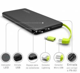 Power bank/bateria portatil 5000mah-Fortaleza