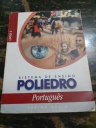 Livro Sistema de Ensino Poliedro Português Ensino Médio