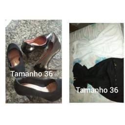 Vestidos e calçados