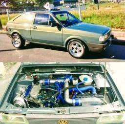 Gol Furgão Turbo - Carro TOP - 1992