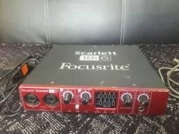 Interface de áudio Focusrite Scarlett 18i6