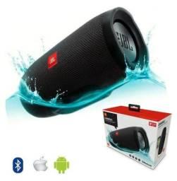 Caixa De Som JBL Media Charge 3+ Super Bass Bluetooth Micro Sd Rádio Fm